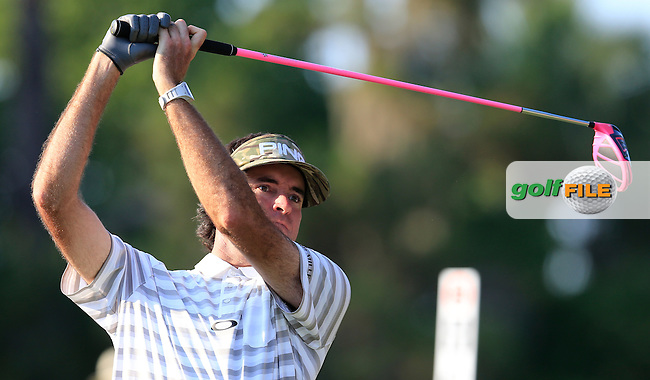 Bubba Watson (USA) during round 1of the Players, TPC Sawgrass, Championship Way, Ponte Vedra Beach, FL 32082, USA. 12/05/2016.<br /> Picture: Golffile   Fran Caffrey<br /> <br /> <br /> All photo usage must carry mandatory copyright credit (&copy; Golffile   Fran Caffrey)