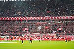 03.11.2019, Merkur Spielarena, Duesseldorf , GER, 1. FBL,  Fortuna Duesseldorf vs. 1. FC Koeln,<br />  <br /> DFL regulations prohibit any use of photographs as image sequences and/or quasi-video<br /> <br /> im Bild / picture shows: <br /> Choregrafie Duesseldorfer Fans <br /> <br /> Foto © nordphoto / Meuter