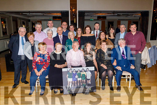 Ger Power with family and friends at the Kerry Supporters Social in the Ballygarry House Hotel on Saturday