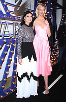 NEW YORK, NY - APRIL 12:  Morena Baccarin, Karlie Kloss  at the Swarovski Times Square Store Celebration at Hudson Mercantile in New York. City on April 12, 2018. <br /> CAP/MPI/RW<br /> &copy;RW/MPI/Capital Pictures