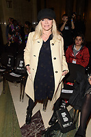 Jo Wood<br /> at the Pam Hogg show as part of London Fashion Week, London<br /> <br /> <br /> ©Ash Knotek  D3378  16/02/2018