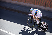 Time Trial World Champion Tony Martin (GER/Katusha Alpecin) during his race.<br /> <br /> Baloise Belgium Tour 2017<br /> Stage 3: ITT Beveren - Beveren (13.4km)