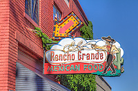 El Rancho Grande has ben on Route 66 in Tulsa since 1953 at the same location.