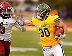November 16, 2019; Spearfish, SD, USA; Azusa Pacific at Black Hills State College Football at Lyle Hare Stadium in Spearfish, S.D. (Richard Carlson)