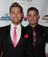 LOS ANGELES, CA - NOV 11: Lance Bass, Michael Turchin attends the first annual Vanderpump Dog Foundation Gala hosted and founded by Lisa Vanderpump, Taglyan Cultural Complex, Los Angeles, CA, November 3, 2016. (Credit: Parisa Afsahi/MediaPunch).