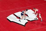 MADISON, WI - JANUARY 19: Jake Donar of the Wisconsin Badgers wrestling team against the Penn State Nittany Lions at the Field House on January 19, 2007 in Madison, Wisconsin. The Badgers beat the Nittany Lions 17-16. (Photo by David Stluka)