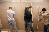 Plastering training, Able Skills, Dartford, Kent.