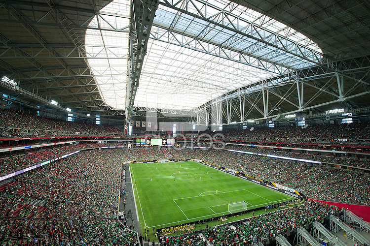 Action photo during the match Mexico vs Uruguay, Corresponding Group -C- America Cup Centenary 2016, at University of Phoenix Stadium<br /> <br /> Foto de accion durante el partido Mexico vs Uruguay, Correspondiante al Grupo -C-  de la Copa America Centenario USA 2016 en el Estadio de la Universidad de Phoenix, en la foto: Vista General  <br /> <br /> <br /> 05/06/2016/MEXSPORT/Jorge Martinez.