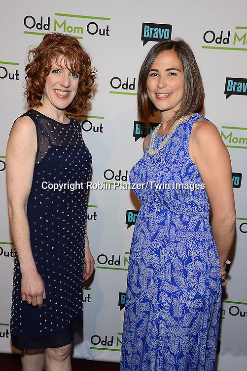 Julie Rottenberg and Elisa Zuritsky attends the &quot;Odd Mom Out&quot; Screening, which is Bravo's first scripted half-hour comedy from Jill Kargman,  on June 3, 2015 at Florence Gould Hall in New York City, New York, USA.<br /> <br /> photo by Robin Platzer/Twin Images<br />  <br /> phone number 212-935-0770