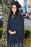 Ciara Twomey from Tralee who received her degree at the Graduation Ceremony from the I T Tralee in the Brandon Hotel on Friday.