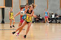 Pulse' Maddy Gordon in action during the  Preseason Tournament - Pulse v Steel at Ngā Purapura, Otaki, New Zealand on Sunday 10 February  2019. <br /> Photo by Masanori Udagawa. <br /> www.photowellington.photoshelter.com