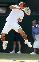 The Championships Wimbledon 2014 - The All England Lawn Tennis Club -  London - UK -  ATP - ITF - WTA-2014  - Grand Slam - Great Britain -  27th.June 2014. <br /> ALEXANDR DOLGOPOLOV (UKR)<br /> <br /> &copy; J.Hasenkopf / Tennis Photo Network