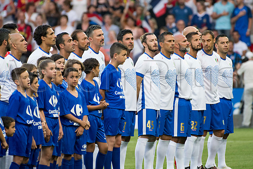 June 17th 2017; Allianz Riviera, Nice, France; Legends football international, France versus Italy;