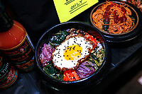 NEW YORK, NY - JUNE 23: Korean Food displayed during the Summer Fancy Food Show at the Javits Center in the borough of Manhattan on June 23, 2019 in New York, The Summer Fancy Food Show is the largest and biggest specialty food industry event in the continent (Photo by Kena Betancur/VIEWpress/Corbis via Getty Image
