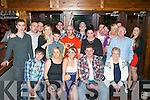 Rachel O'Mahony, Rath Oraigh, Tralee (seated centre) had a fab night celebrating her 21st birthday in Hennessy's bar, Tralee last Saturday surrounded by many friends and family.