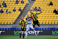 Wellington Phoenix&rsquo; Marco Rossi and Melbourne Victory&rsquo;s Besart Berisha in action during the A League - Wellington Phoenix v Melbourne Victory FC at Westpac Stadium, Wellington, New Zealand on Sunday 3 December.<br /> Photo by Masanori Udagawa. <br /> www.photowellington.photoshelter.com
