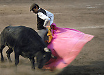 Bullfight at Leon, Central Mexico