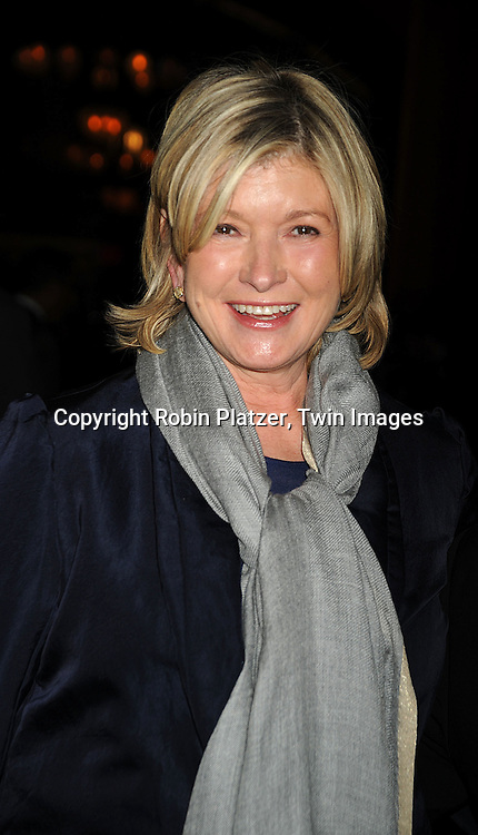 Martha Stewart ..at The 55th Annual Winter Antiques Show opening night on January 22, 2009 at The Park Avenue Armory at 67th Street and Park Avenue in New York City. ....Robin Platzer, Twin Images