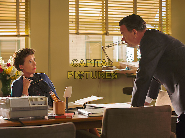 Emma Thompson, Tom Hanks<br /> in Saving Mr. Banks (2013) <br /> *Filmstill - Editorial Use Only*<br /> CAP/NFS<br /> Image supplied by Capital Pictures