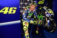 MOVISTAR YAMAHA MOTOGP RIDERS <br /> Valentino Rossi <br /> Madrid 19-01-2017 <br /> Foto Ufficio Stampa Yamaha / Insidefoto