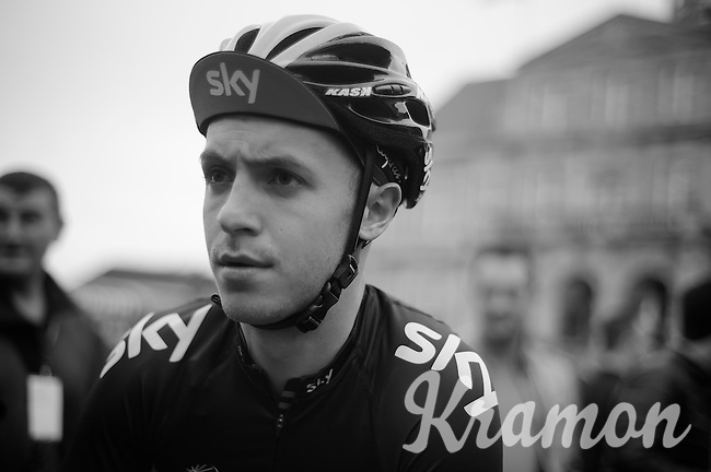 48th Amstel Gold Race 2013..Jon Tiernan Locke (GBR) et the start