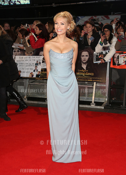 """MyAnna Buring arriving for the """"The Twilight Saga: Breaking Dawn Part 2"""" premiere at the Odeon Leicester Square, London. 14/11/2012 Picture by: Henry Harris / Featureflash"""