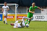 20.07.2017, Silberstadt Arena, Schwaz, AUT, FSP, Borussia M&ouml;nchengladbach vs Leeds United, im Bild Patrick Herrmann (Gladbach #7), Ezgjan Alioski (Leeds #16)<br /> <br /> Foto &copy; nordphoto / Hafner