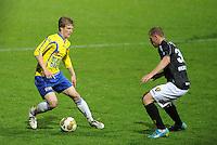 VOETBAL: LEEUWARDEN: Cambuur Stadion, 10-05-2012, SC Cambuur - VVV, Nacompetitie, Eindstand 0-0, Wout Droste (#2), Yanic Wildschut (#30) ©foto Martin de Jong