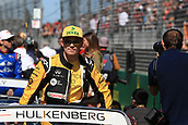 25th March 2018, Melbourne Grand Prix Circuit, Melbourne, Australia; Melbourne Formula One Grand Prix, race day; Renault Sport F1 Team; Nico Hulkenberg