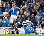 James Tavernier concedes a penalty kick