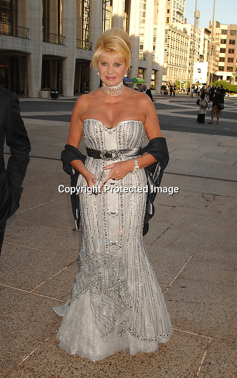 Ivana Trump..arriving at The Metropolitan Opera House for the American Ballet Theatre 67th Annual Gala on May 14, 2007...Robin Platzer, Twin Images......212-935-0770