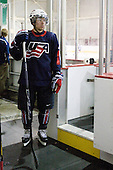 David Warsofsky (US - 5) - Team USA defeated Team Russia 6-0 in their final game during the 2009 USA Hockey National Junior Evaluation Camp on Saturday, August 15, 2009, in the USA (NHL-sized) Rink in Lake Placid, New York.