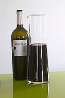 Bottles and decanters. Vinhas da Ira 2004. Henrque HM Uva, Herdade da Mingorra, Alentejo, Portugal
