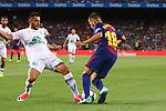 52e Trofeu Joan Gamper.<br /> FC Barcelona vs Chapecoense: 5-0.<br /> Alan Ruschel vs Jordi Alba.