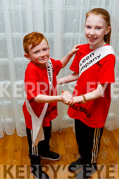 Aine Fitzmaurice and Liam Duffy, members of the Tralee Musical Society at their 'Strictly Young Dancing' fundraiser launch in the Ballyroe Heights Hotel on Saturday which is being held on February 9th in Ballyroe Hotel.