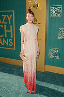 HOLLYWOOD, CA - AUGUST 7: Constance Lau at the premiere of Crazy Rich Asians at the TCL Chinese Theater in Hollywood, California on August 7, 2018. <br /> CAP/MPI/DE<br /> &copy;DE//MPI/Capital Pictures