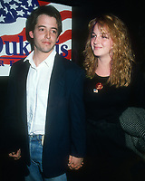 Matthew Broderick, Helen Hunt, 1988, Photo By Michael Ferguson/PHOTOlink