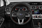 Car pictures of steering wheel view of a 2017 Subaru Crosstrek 2.0i Premium CVT 5 Door SUV Steering Wheel