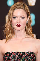 Holiday Grainger at the 2017 EE British Academy Film Awards (BAFTA) held at The Royal Albert Hall, London, UK. <br /> 12 February  2017<br /> Picture: Steve Vas/Featureflash/SilverHub 0208 004 5359 sales@silverhubmedia.com