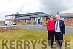 Miriam Courtney Member Concierge & Noel Cronin Secretary Manager Waterville Golf Links at the newly refurbished  Clubhouse.