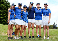 Bay of Plenty pose for a photo. Day Four semi finals of the Toro Interprovincial Women's Championship, Sherwood Golf Club, Whangarei,  New Zealand. Friday 8 December 2017. Photo: Simon Watts/www.bwmedia.co.nz