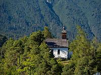 Kirche am Bergl - Laurentiuskirche in Imst, Tirol, &Ouml;sterreich, Europa<br /> Laurentius church, Imst, Tyrol, Austria, Europe
