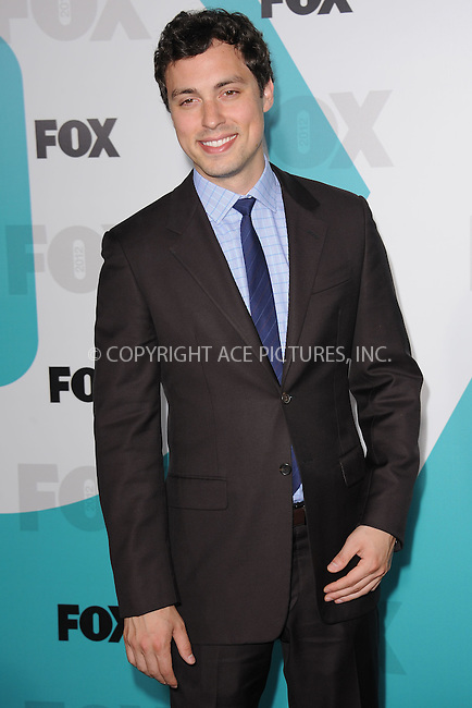 WWW.ACEPIXS.COM . . . . . .May 14, 2012...New York City....John Francis Daley attending the 2012 FOX Upfront Presentation in Central Park on May 14, 2012  in New York City ....Please byline: KRISTIN CALLAHAN - ACEPIXS.COM.. . . . . . ..Ace Pictures, Inc: ..tel: (212) 243 8787 or (646) 769 0430..e-mail: info@acepixs.com..web: http://www.acepixs.com .