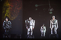 Edinburgh UK. 09.08.2013. Opera de Lyons presents FIDELIO by Ludwig von Beethoven as part of the the Edinburgh International Festival.  Cast is:  Nikolai Schukoff (Florestan), Erika Sunnegardh (Leonore), Michael Eder (Rocco), Valentina Nafornita (Marzelline), Christian Baumgartel (Jaquino), Pavlo Hunka (Don Pizarro), Andrew Schroeder (Don Fernando), Didier Roussel (First Prisoner), Kwang Soun Kim (Second Prisoner) and Clara Simpson (Narrator). Photograph © Jane Hobson.