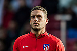 Jorge Resurreccion Merodio, Koke, of Atletico de Madrid prior to the La Liga 2017-18 match between Atletico de Madrid and UD Las Palmas at Wanda Metropolitano  on January 28 2018 in Madrid, Spain. Photo by Diego Souto / Power Sport Images