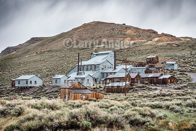 Standard Stamp Mill, The ghost town of Bodie, California, State Historic Park.