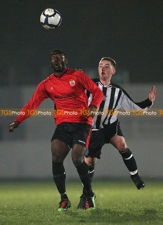 Tambeson Eyong in action for Hornchurch - Eton Manor vs AFC Hornchurch - Essex Senior Cup Football at Mayesbrook Park, Barking FC - 01/11/10 - MANDATORY CREDIT: Gavin Ellis/TGSPHOTO - Self billing applies where appropriate - Tel: 0845 094 6026