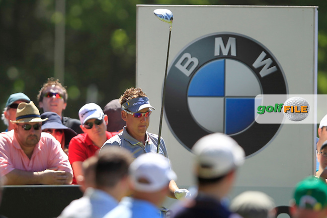 Ian Poulter (ENG) on the 12th during the third round of the BMW PGA CHAMPIONSHIP, Wentworth Club,Surrey,England. 26/5/12.Picture  Fran Caffrey www.golffile.ie..