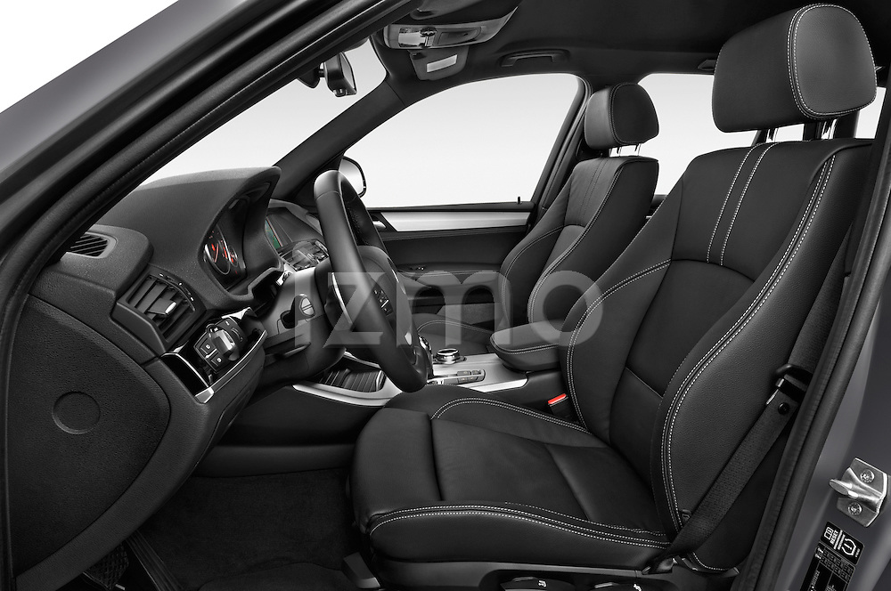 Front seat view of a 2015 BMW X3 M Sportpakket 5 Door Suv Front Seat car photos