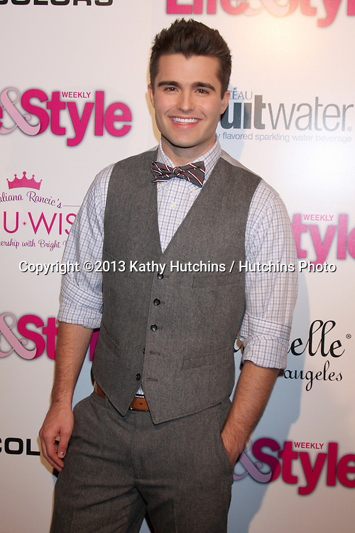 LOS ANGELES - OCT 9:  Spencer Boldman at the Hollywood In Bright Pink at Bagatelle LA on October 9, 2013 in West Hollywood, CA
